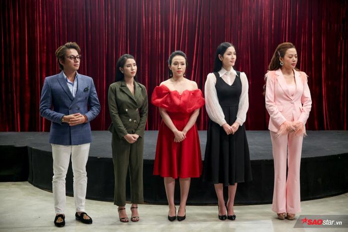 Top 5 thí sinh team Ngọc Sơn: Minh Dũng, Phương Ý, Như Ý, Trương Lynh, Thái Ngân.