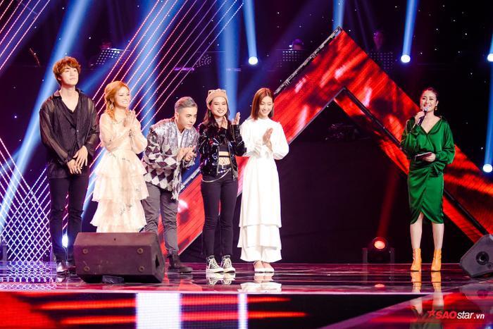 Cả 5 thí sinh đều có phần trình diễn trọn vẹn.
