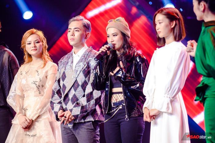 Vòng Đo ván The Voice 2019: HLV Hồ Hoài Anh xin phép Vũ Thịnh  Cát Tiên giữ Juky San ảnh 8