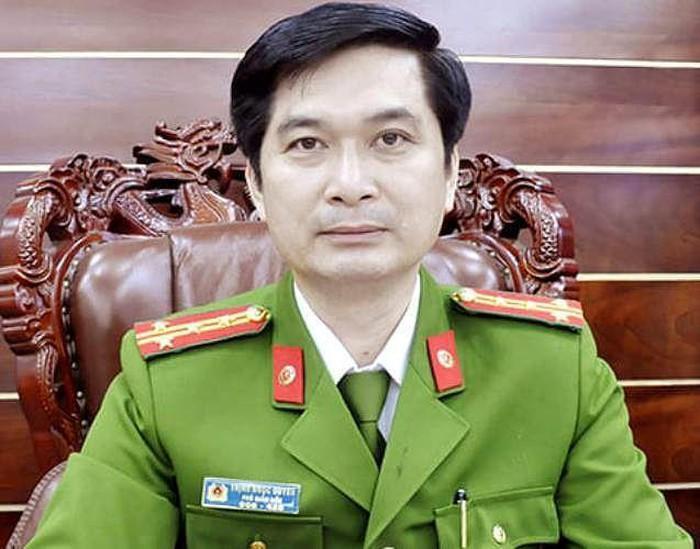 Đại tá Trịnh Ngọc Quyên - Giám đốc Công an tỉnh Bình Dương. (Ảnh: Tiền Phong).