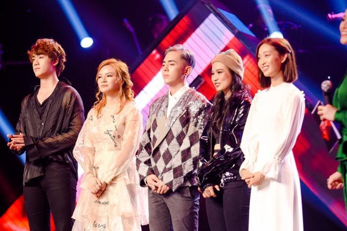 Top 5 Team Hồ Hoài Anh trước vòng thi Đo ván