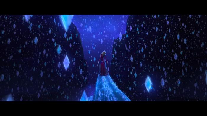 Nhiều góc phim vô cùng đẹp xuất hiện trong Frozen 2.