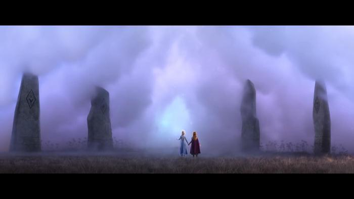 """Elsa mở ra """"cánh cổng"""" bước vào thế giới phiêu lưu mới."""