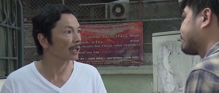 Ông Sơn (NSƯT Trung Anh) bị Khải (Trọng Hùng) tống tiền
