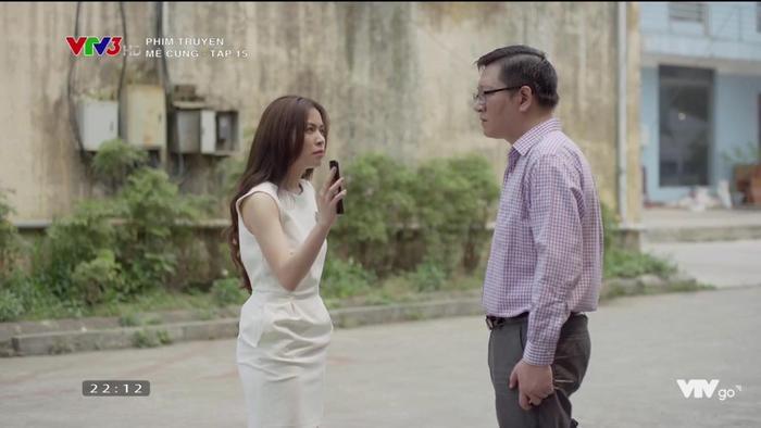 """Lam Anh có vẻ khá nóng vội khi đến """"tố cáo"""" ông Nghĩa."""