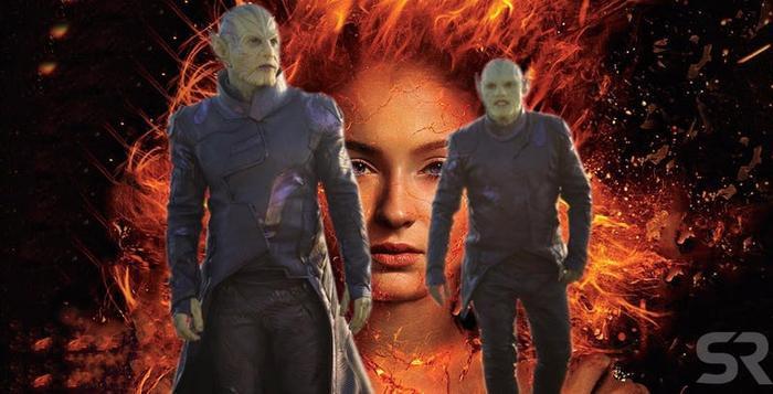"""Chủng tộc ngoài hành tinh Skrull đáng ra đã xuất hiện trong """"X-men: Dark Phoenix"""""""