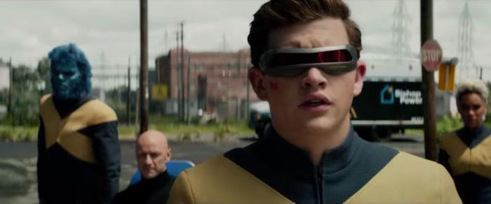 Tye Sheridan trong vai Cyclops