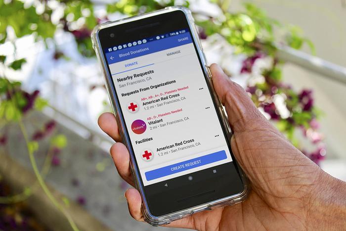 Tính năng mới của Facebook có thể giúp nhiều người dành thời gian hơn cho hoạt động ý hiến máu cứu người