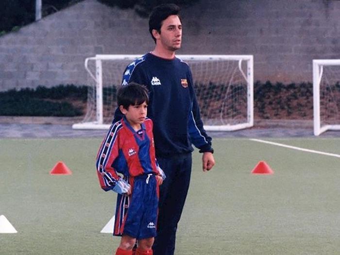 Ông Romagosa từng là HLV đội trẻ Barcelona.