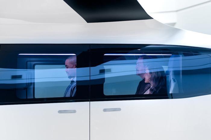 Hình ảnh cabin với số lượng hành khách tối đa