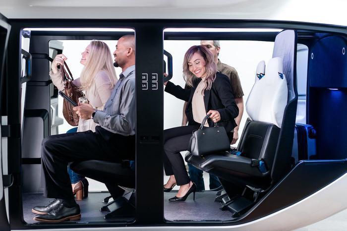 Nội thất của taxi bay này được thiết kế theo yêu cầu của các đơn vị vận hành, tùy theo từng dạng khách hàng mà họ muốn phục vụ
