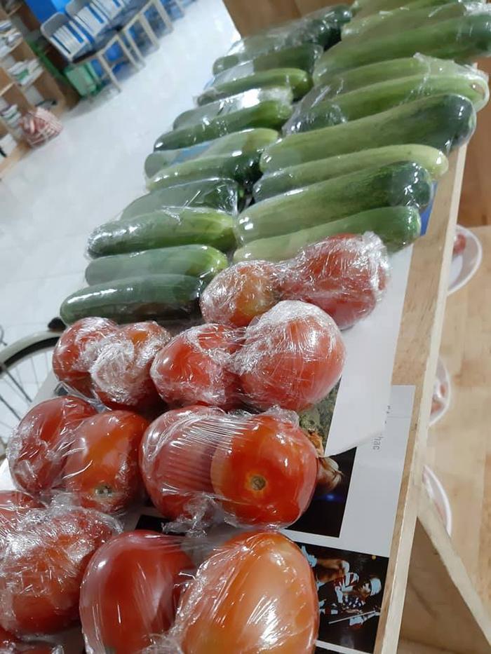 Với những loại thực phẩm thế này, các sinh viên có thể chọn 5 loại nhưng chỉ phải trả với giá tiền là 0 đồng.