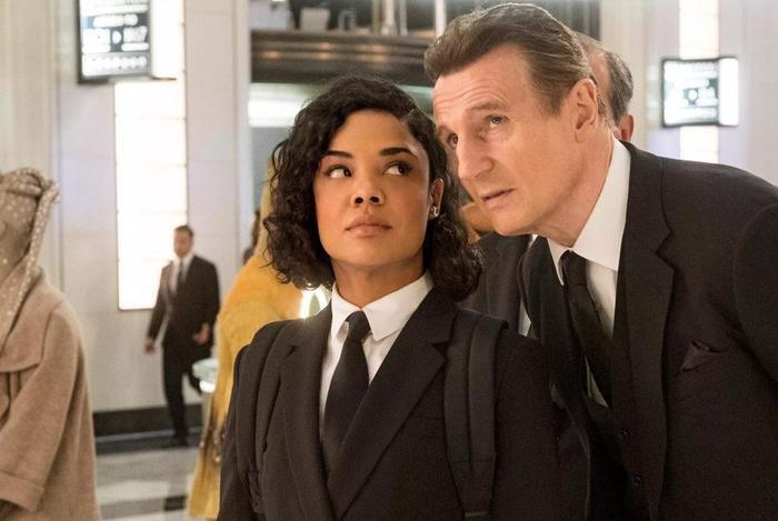 """Liam Neeson gần như không có đất dụng võ trong """"MIB: International"""""""