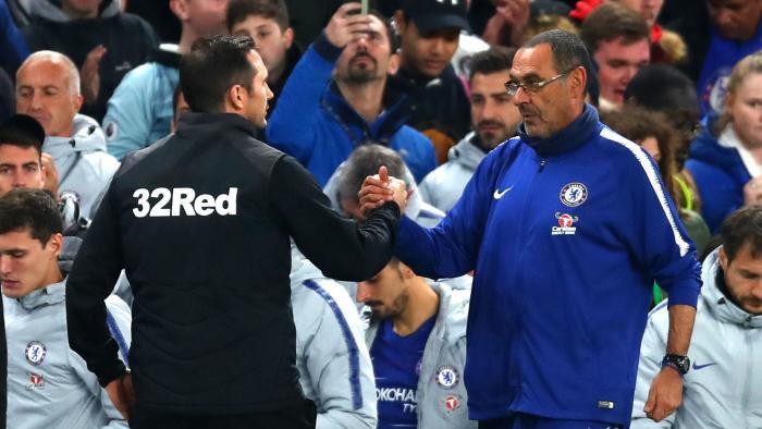 Lampard sẽ tiếp quản chiếc ghế nóng do Sarri để lại.
