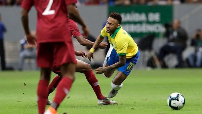 Neymar vừa bị chấn thương nặng và không thể dự Copa America 2019 cùng Brazil.