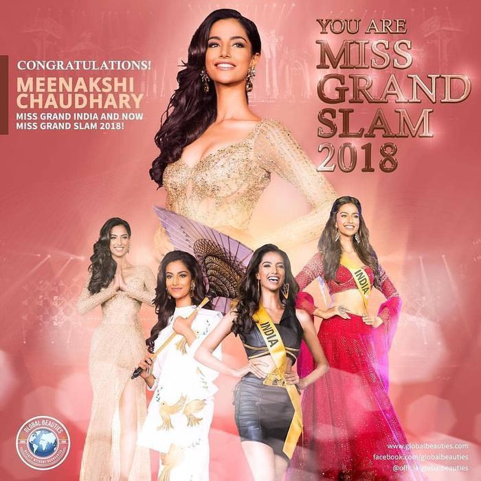 """Nếu có đối thủ là """"Hoa hậu của các hoa hậu 2018"""" –Meenakshi Chaudhary…"""