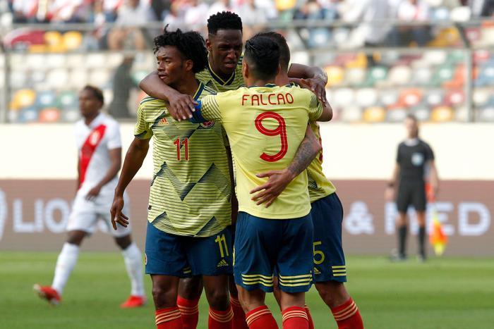 Colombia là đội chơi hay hơn và giành được thắng lợi đầu tay.