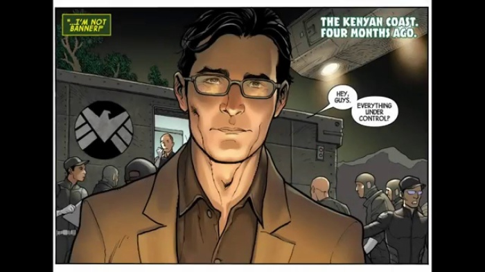 """Bruce Banner trong """"Totally Awesome Hulk #1"""""""
