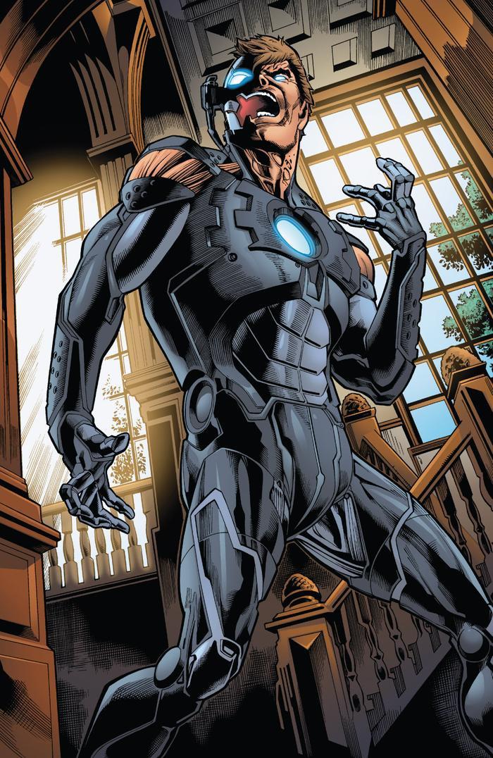 Hank Pym khi đã đồng nhất với Ultron