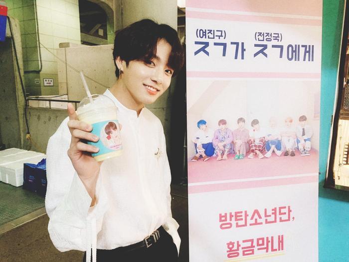 Bạn có biết món quà đặc biệt mà Yeo Jin Goo gửi tặng Jungkook (BTS) là gì không? ảnh 2