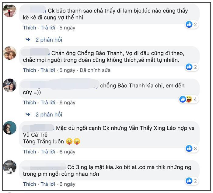 Nhiều người không hiểu chuyện đã đặt câu hỏi Vì sao chồng Bảo Thanh cũng kè kè theo vợ.