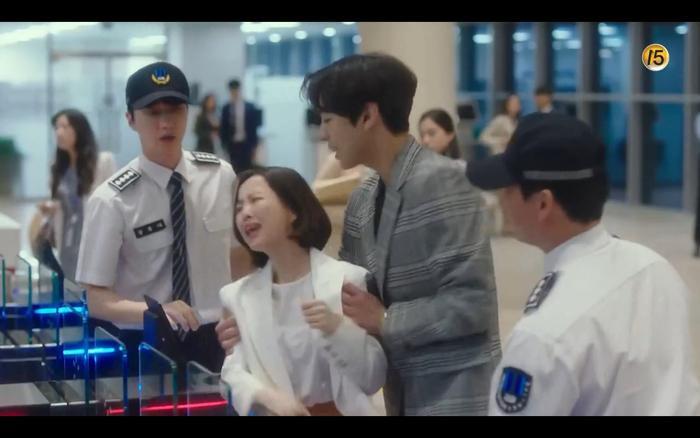 Trực tiếp đến làm loạn phòng công tố khiến Ji Wook vô cùng tức tối.