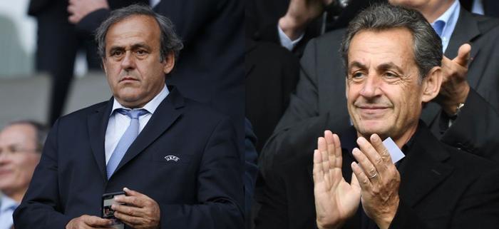 Cựu tổng thống Pháo, Nicolas Sarkozy cùng Platini đã bị cảnh sát tạm giam vì nghi ngờ tham nhũng liên quan World Cup 2022.