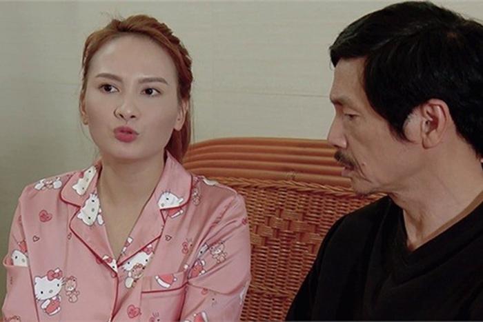 """Bảo Thanh trở thành con gái """"Lương Bổng"""" trong phim """"Về nhà đi con"""" và làm con trai """"Phan Quân"""" điêu đứng."""