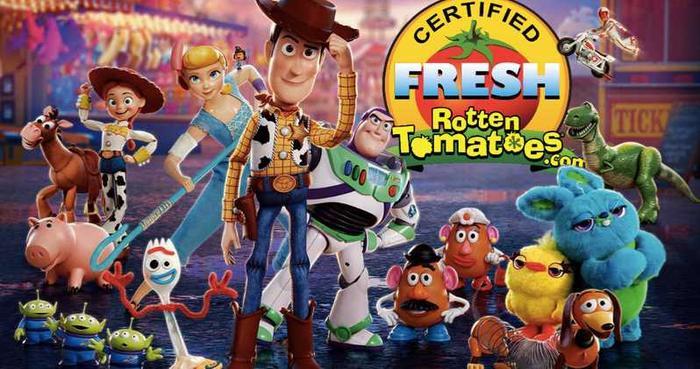 """Toy Story 4 được chứng nhận """"cà chua tươi"""" trên Rotten Tomatoes."""