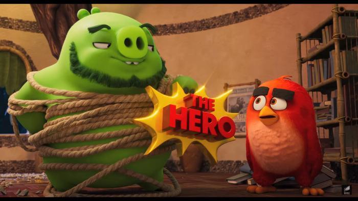The Angry Birds Movie 2 tung trailer cuối hé lộ màn hợp tác giữa Chim giận dữ và Heo xanh ảnh 5