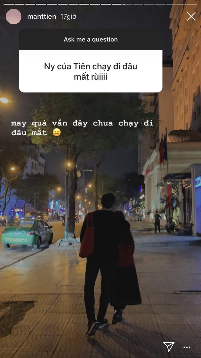 """Mẫn Tiên đăng ảnh """"tình mới"""" ngay sau khi xác nhận đã chia tay bạn trai được hơn nửa năm."""