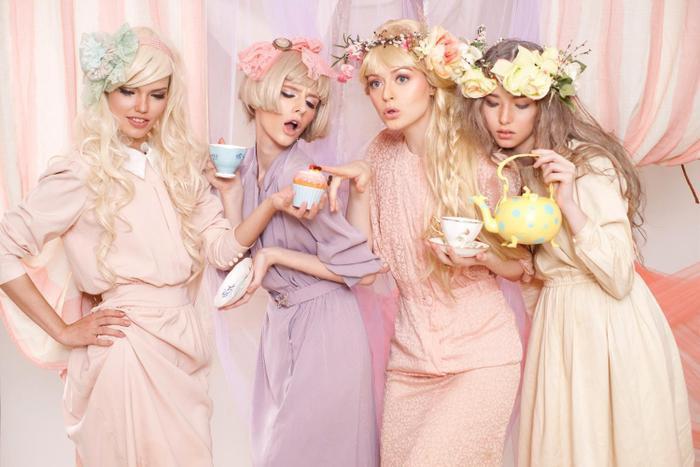 Gam màu pastel khuynh đảo giới thời trang nhờ nét thanh lịch và nhẹ nhàng cho người mặc. Nguồn: Designs