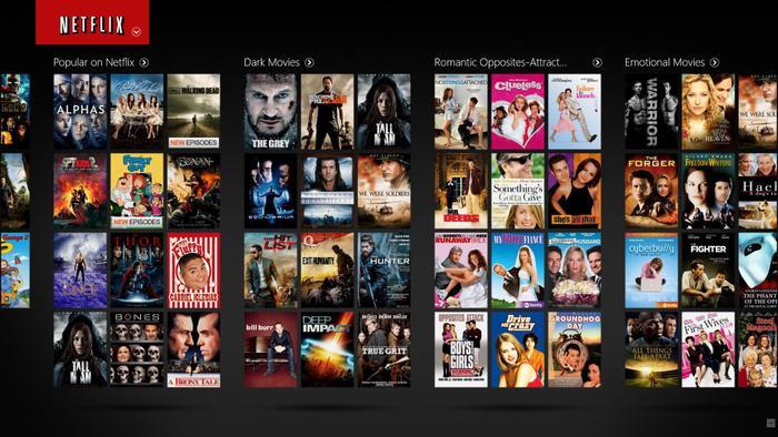 Kho ứng dụng đồ sộ của Netflix