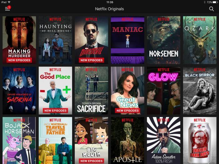 Rất nhiều bộ phim truyền hình của Netflix gây được tiếng vang lớn