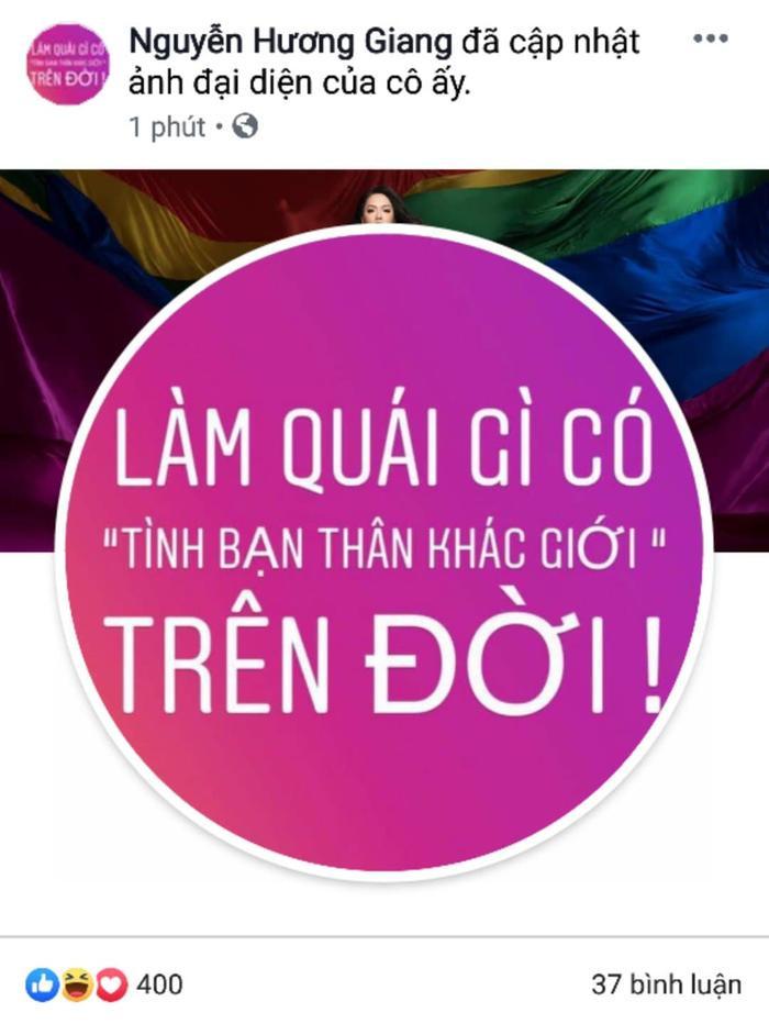 Hương Giang bất ngờ thay avatar của mình bằng một câu nói đầy ẩn ý.
