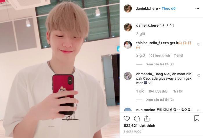 Kang Daniel thả thính fan liên tiếp 2 lần trong 1 ngày, ngầm thông báo ngày comeback cận kề? ảnh 2