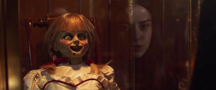 Annabelle chính thức thoát khỏi phong ấn…