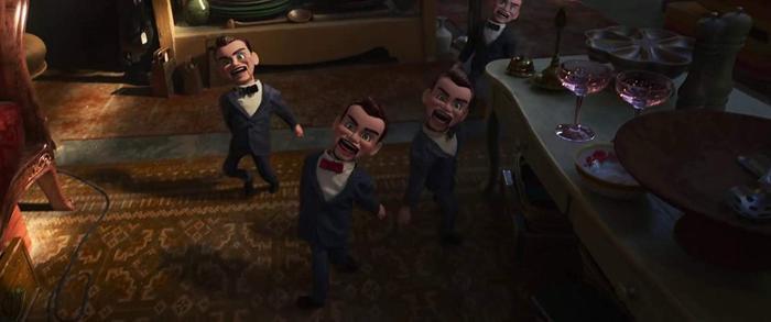 Nhiều nhân vật mới được giới thiệu trong phần phim thứ 4 của Toy Story như Duke Caboom, Porky, búp bê Gabby Gabby và tay sai…