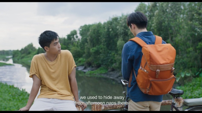 Nổi da gà với teaser phim đam mỹ Thưa mẹ con đi: Hai mỹ nam Việt tình bể bình từ ánh mắt, cử chỉ đến nụ hôn ngọt ngào ảnh 5
