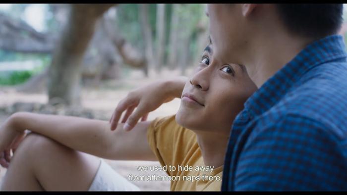 Nổi da gà với teaser phim đam mỹ Thưa mẹ con đi: Hai mỹ nam Việt tình bể bình từ ánh mắt, cử chỉ đến nụ hôn ngọt ngào ảnh 15