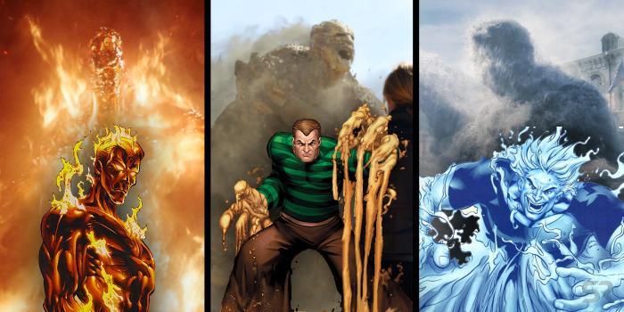 Nhóm Elementals đã xuất hiện gần như đầy đủ trong trailer của Spider Man: Far From Home.