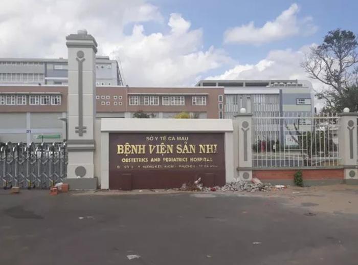 Bệnh viện sản nhi Cà Mau. Ảnh: báo Người lao động.