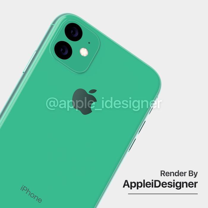Giống với các tin đồn trước đây, concept iPhone 11R của @AppleiDesigner cũng có hệ thống camera kép cùng đèn flash LED đặt trong một cụm hình vuông độc đáo. Apple được cho rằng sẽ trang bị một ống kính tele 12 MP, tích hợp AI, hỗ trợ zoom 5x một và ống kính góc siêu rộng 12 MP trêniPhone 11R.