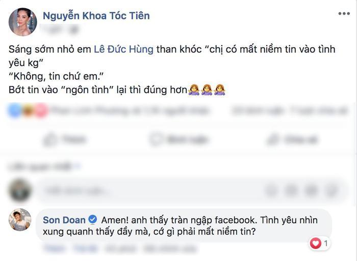 Nữ ca sĩ cá tính Tóc Tiên thì có cái nhìn khác với số đông cho rằng đừng nên tin quá nhiều vào chuyện ngôn tình.