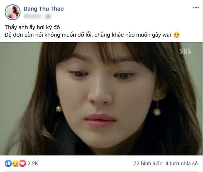 Hoa hậu Đặng Thu Thảo thì rất không hài lòng trước cách cư xử của Song Joong Ky.
