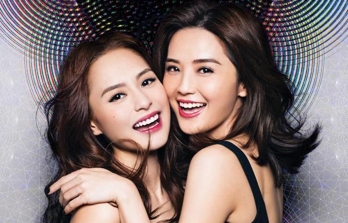 Nhóm Twins của Chung Hân Đồng và Thái Trác Nghiên.