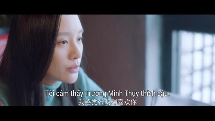 Hứa Nhật Thanh cũng đã nhìn ra tình cảm của Trương Minh Thụy dành cho Lạc Chỉ