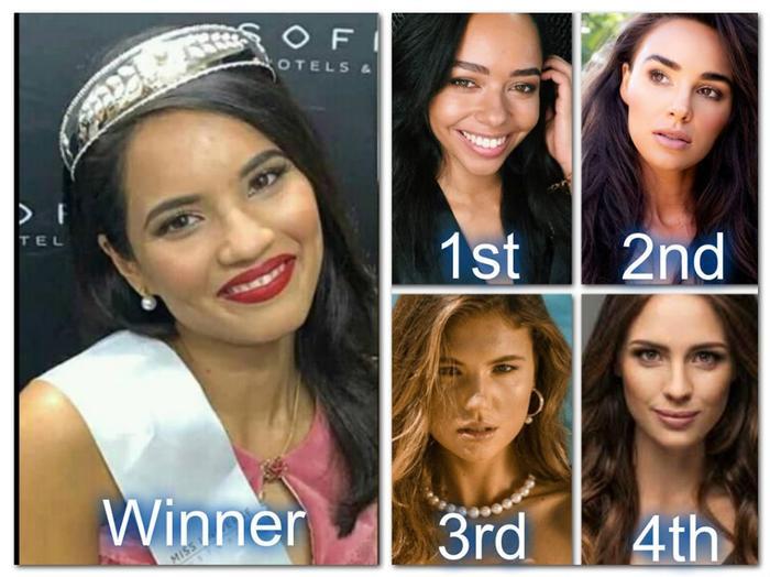 Trong top 5,Priya Serrao bị cho là kém sắc nhất. Thay vào đó, fan cho rằng Á hậu 2Marijana Radmanović mới thực sự là tân hoa hậu Hòa vũ Úc trong lòng họ.