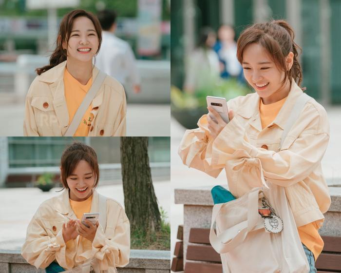 """Những hình ảnh mang đầy năng lượng tích cực của """"Hong Yi Young""""."""