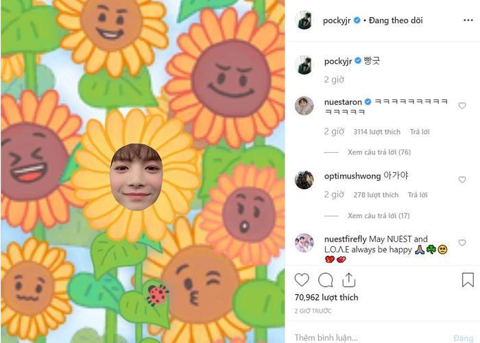 NUEST thích thú đội nón lá và muốn sống ở Việt Nam, Ren viết tiếng Việt xin lỗi fan trên Instagram ảnh 12